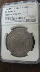 1804 Cnb Ot Russia Ruble Silver Coin Graded Ngc Xf Details C125