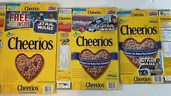 Vintage Cheerios Star Wars Episode Ii Attach Of The Clones Cereal Boxes
