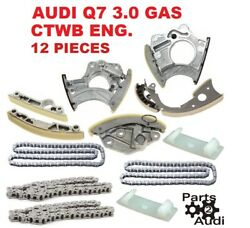 Oem Engine Timing Chain Tensioners Guide Rails Kit For Audi Q7 3.0l Gas Ctwb