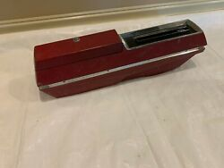 1967-1969 Olds Cutlass Console Oldsmobile Automatic Floor Shift Center Red