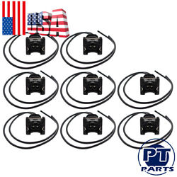 8x Fuel Injector Connector Wiring Plugs Clips Fit Ev1 Obd1 Pigtail Cut And Splice
