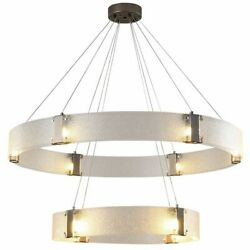 Glass Metal Chandelier Ceiling Fixtures Lights Led Bulbs Modern Home Decorations
