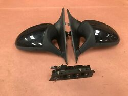Right Left Side View Mirrors Pair W/t Master Switch Bmw M3 Oem S65 69k