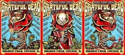 Grateful Dead Fare Thee Well Munk One Vip Brown Set Matching Super Rare Set