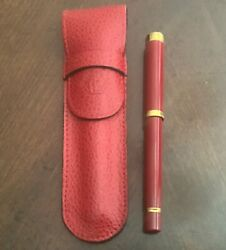 Waterman Small Red Fountain Pen, New Old Stock