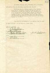 Thomas A. Edison - Corporate Minutes Signed 10/19/1920 With Co-signers