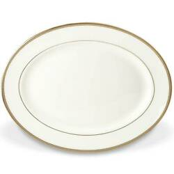 Kate Spade - Sonora Knot Bone China 13 Oval Serving Platters Set Of 2