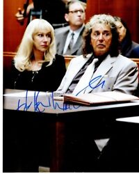 Helen Mirren And Al Pacino Signed Phil Spector The Movie 8x10 Inch Photo