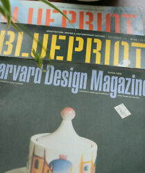 Job Lot 3 X Architecture Magazines From 90and039s Harvard And Blue Print See Index