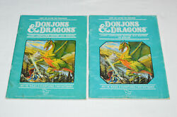 Donjons And Dragons Livres 2 Lot Dandd French Companion Rule Books 1980s Dungeons