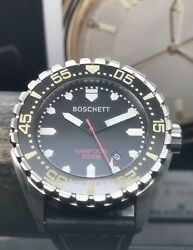Boschett Harpoon 1000m Diver Automatic Movement 45mm Stainless Steel Complete