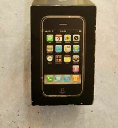 Collectable Apple Iphone 1st Gen - 8gb - Black A1203 Gsm With Matching Box.