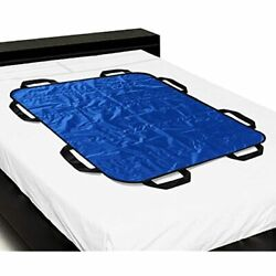Multipurpose 48andrdquo X 40andrdquo Positioning Bed Pad Reinforced Handles - Andamp