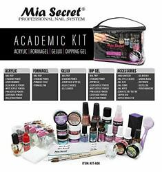 Mia Secret Professional Academic Nail Kit For Acrylic Formagelgelux And Dip Gel