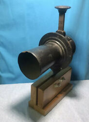 Original Antique Clero Car Truck Horn With Bracket Mounted To Enjoy