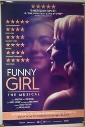 Funny Girl The Musical Rolled Orig 1sh Movie Poster Sheridan Smith Live 2017
