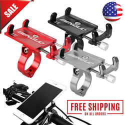 Aluminum Motorcycle Bike Bicycle Holder Mount Handlebar For Cell Phone GPS US $7.95