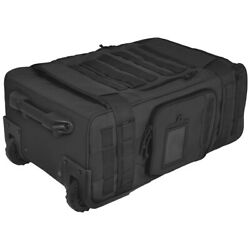 Hazard 4 Air Support Rugged Rolling Carry-on Wheeled Luggage Travel Molle Black
