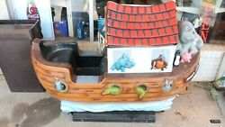 Noah's Ark Coin Operated Child's Ride.