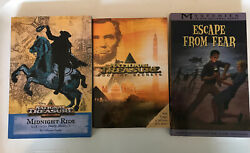 3 Books 2 National Treasure Books And 1 Mysteries In Our National Parks Book