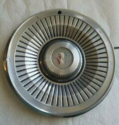 Vintage Spoke Hubcaps - Buick Regal 15 Inch 1970's Or 60's Man Cave