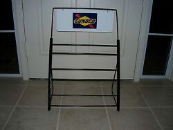 3 Oil Can Display Rack Any Color Esso Mobil Most Any Decal