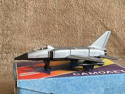 Vintage Plastic Toy Airplane Mig-23 Ussr 1980s In The Original Box New 1/80
