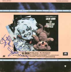 Sugarland Express Movie Cast - Laser Media Cover Signed With Co-signers
