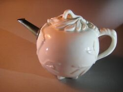 An Usual Small Blanc De Chine Teapot And Cover Circa 1675
