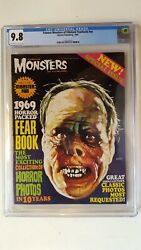 Famous Monsters Yearbook 1969 Cgc 9.8 Highest Graded Copy
