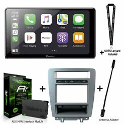 Pioneer Dmh-wc6600nex 9 Receiver Kit-mus1 For Ford Mustangs Ads-mrr