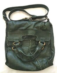 Lucky Brand Green Abbey Road Bag $79.00