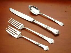 Stately By State House Sterling Silver Individual 4 Piece Place Setting