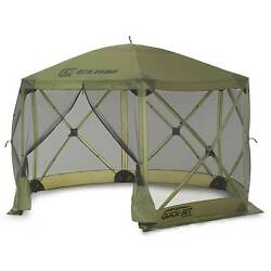 Clam Quick Set Escape Portable Camping Gazebo Canopy Shelter Screen Used