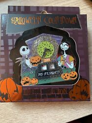 Disneyparks Halloween 2019 Countdown Andrdquo Nightmare Before Christmas Pin Le 3000