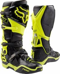 Fox Racing Instinct Menand039s Off-road Motorcycle Boots - Black/yellow