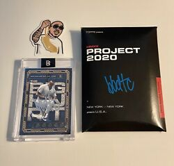 Frank Thomas Topps Project 2020 By Ben Baller Signed Andldquobbdtcandrdquo Autograph 46/100
