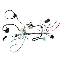 Complete Electrics Wiring Harness For Chinese Dirt Bike Atv Quad 50/70/90/ 110cc