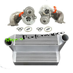 Billet 6+6 16t Turbocharge For Bmw 135i 535i Z4 N54 + 7.5 Stepped Intercooler