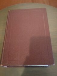 Vintage Nave's Topical Bible Moody Press Red Burgundy Hardcover Book Nice