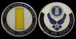 Us Air Force Second Lieutenant O1 Rank Challenge Coin Military Collectible Coins