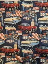 Face mask - CLASSIC CARS - ROUTE 66  (Adult Child & Custom Size) $9.25