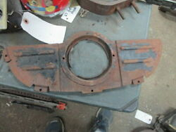 1932 Cadillac V8 Lower Grill Panel Crank Hole Support