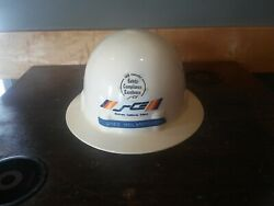 San Onofre California Sce Vintage Fibre-metal Safety Nuclear Power Hat