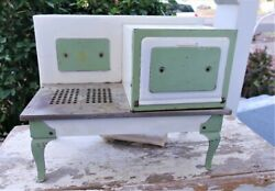 Empire Vintage Metal Stove And Oven Electric Toy Pre-war 1920-30's Salesman Sample