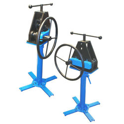 Tube Pipe Roller Ring Rolling Bender Bending 1.5 With Stand