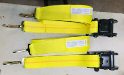 2 Heavy Duty Military Grade 20ft Tie Downs 3 Ratchets With Snap Hooks