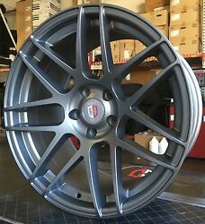 19and039and039 Curva C300 Wheels Tires Gunmetal Fit Bmw 3 5 6 Series Staggered M3 M4 M5