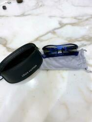 Authentic Louis Vuitton 4Motion Water Sport Sunglasses Blue wRetainer Case Used
