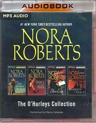 Nora Roberts Oand039hurleys Collection 4 Books In 1 Package Unabridged Mp3 Audiobooks